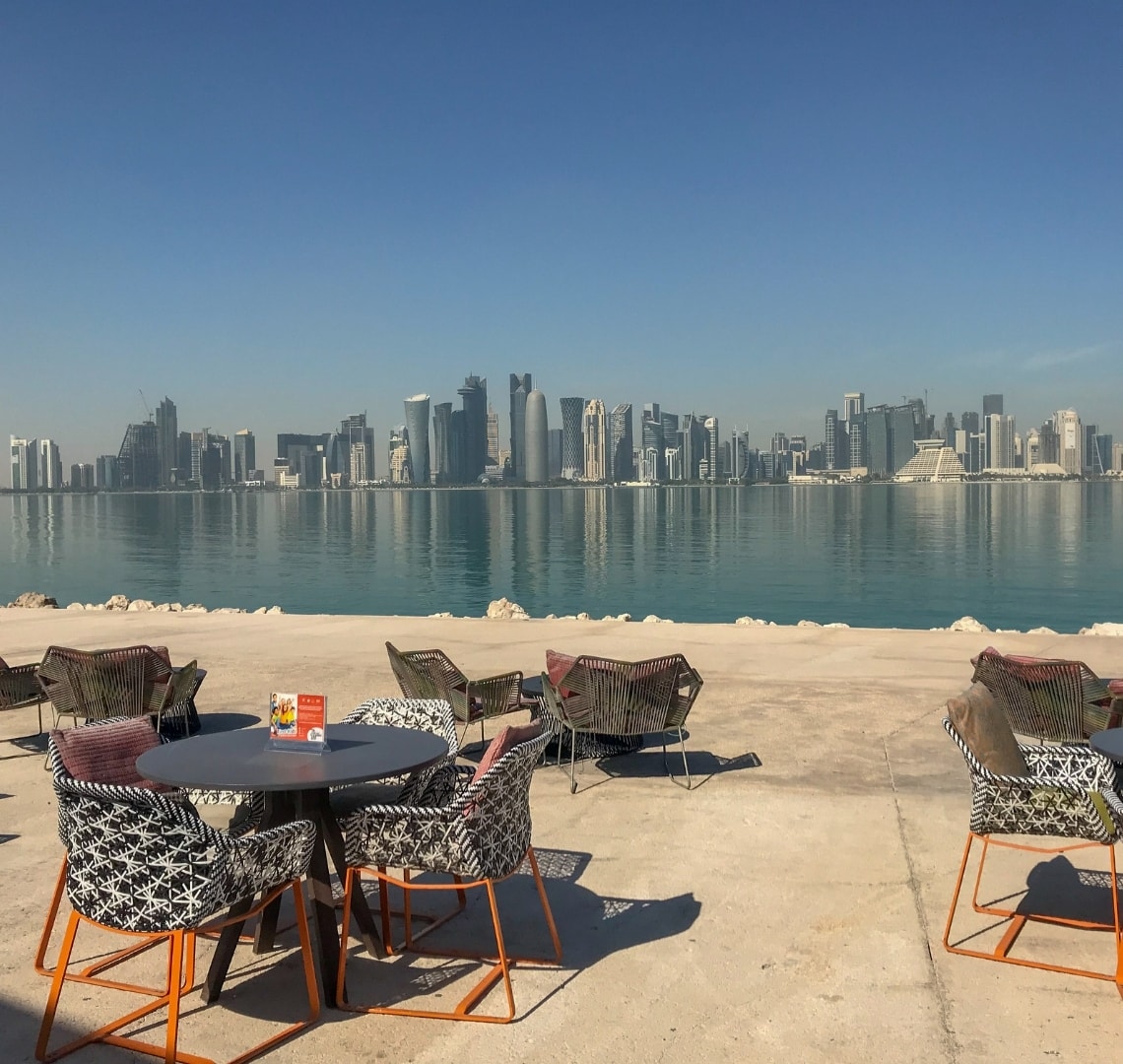11 incredible things to do in Qatar - Doha Skyline from MIA