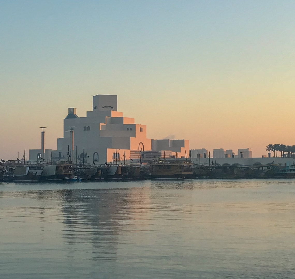 11 incredible things to do in Qatar - Museum of Islamic Art at sunrise