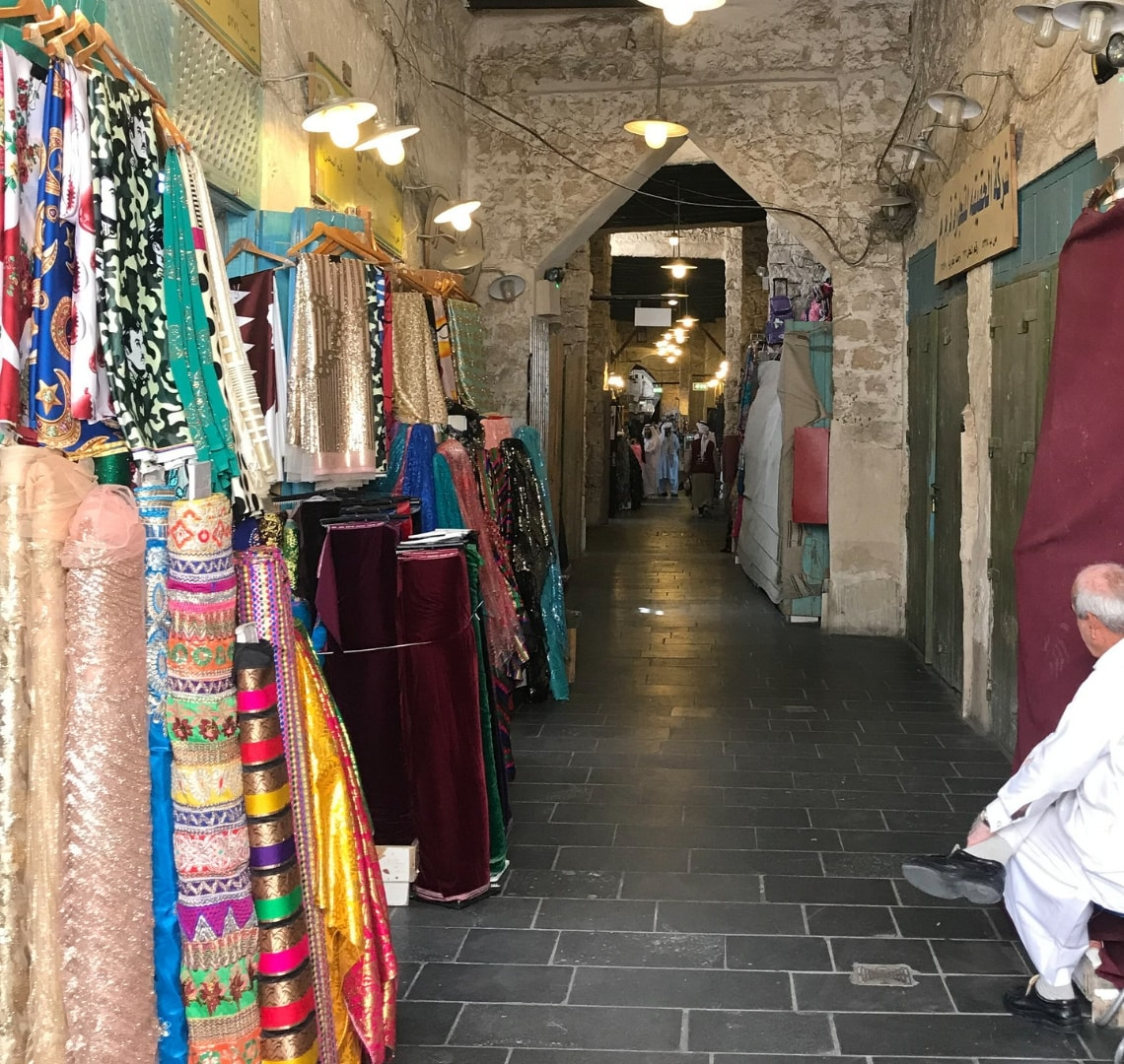 11 incredible things to do in Qatar - one of the corridors in the souq