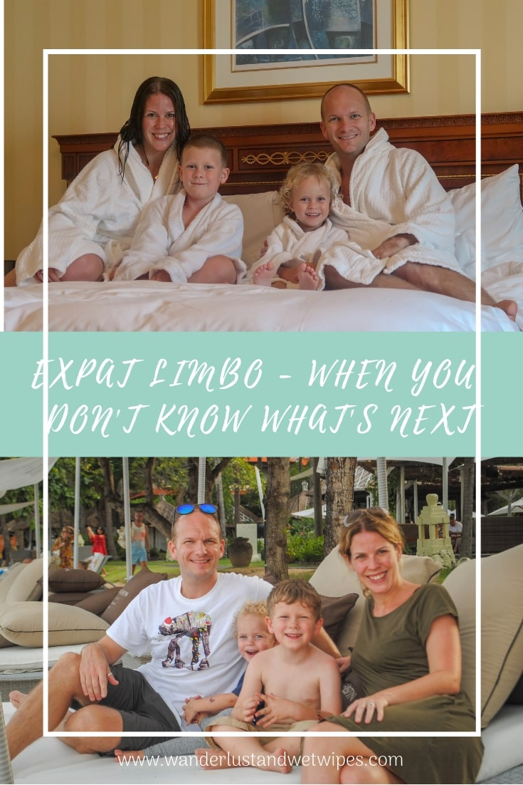 Expat Limbo - How do you live when you don't know where the next move is to, let alone when it will be? How do you explain being in a constant state of expat limbo?