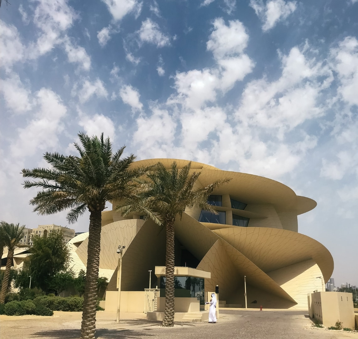 Exploring the new National Museum of Qatar