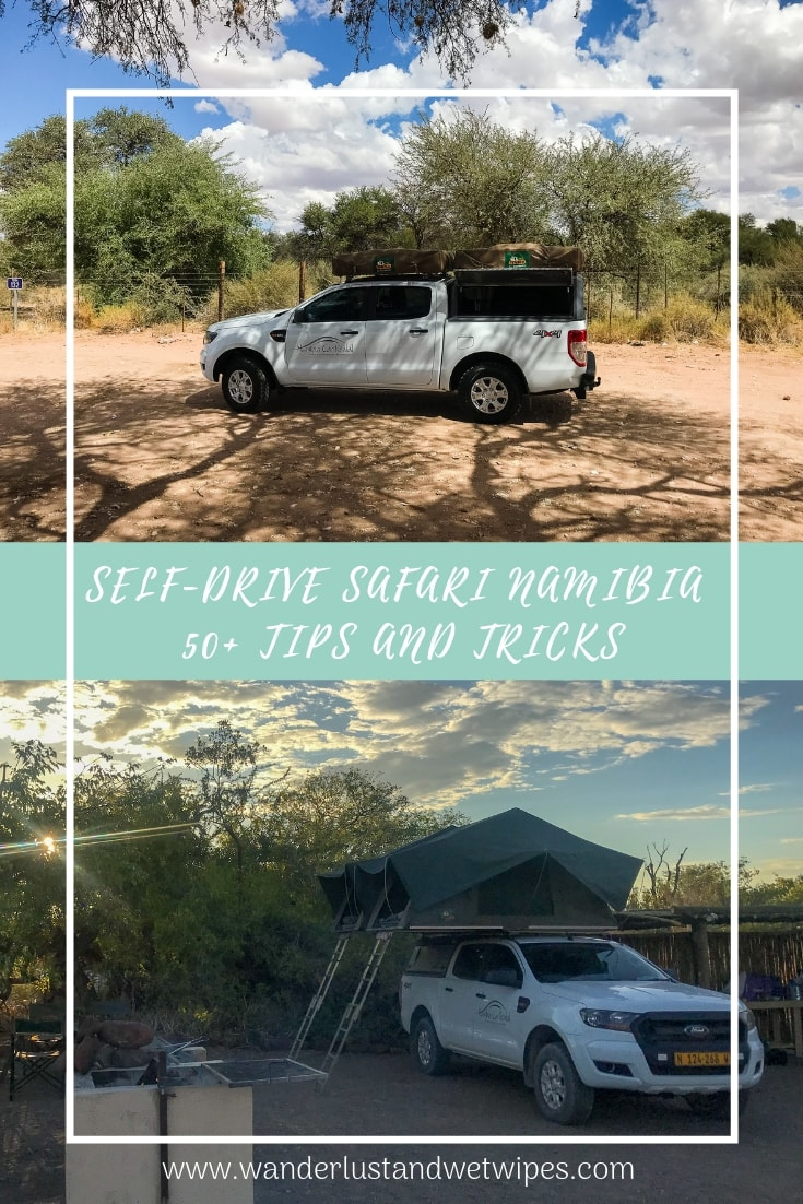 From accommodation considerations to how to stay safe - Everything you need to know to make your self-drive safari in Namibia as successful as possible!