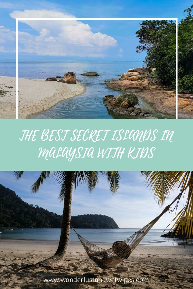 The Best Secret Islands In Malaysia With Kids Pinnable Image
