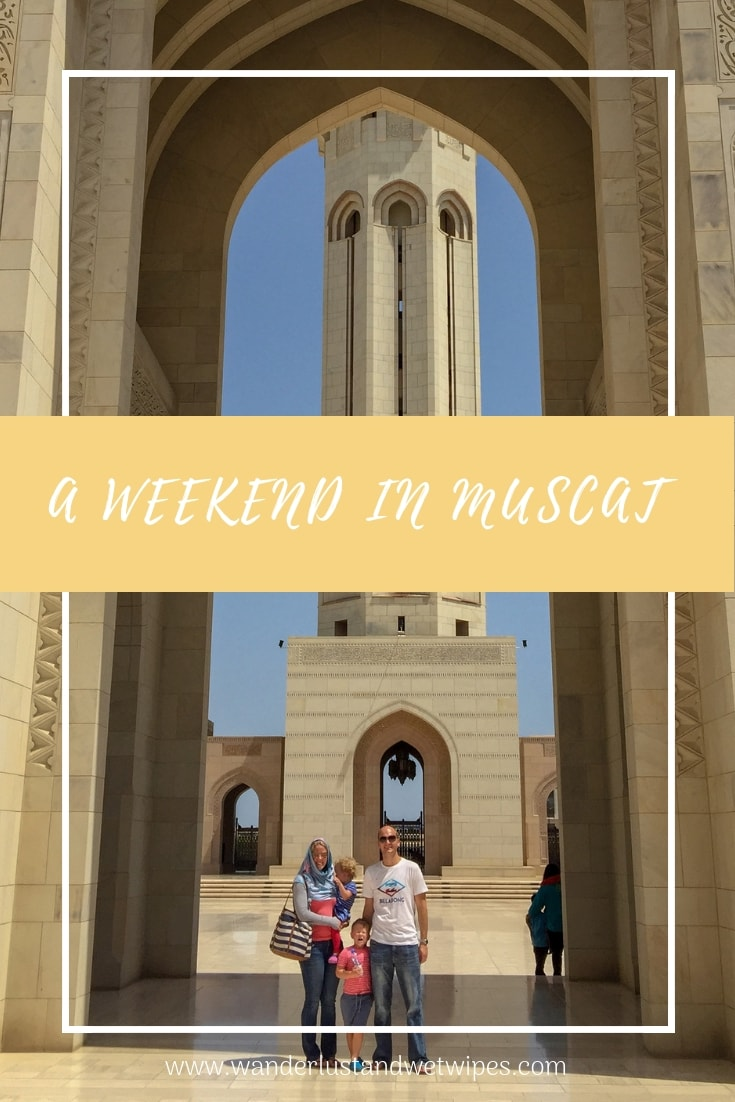 A Weekend in Muscat - yellow pin