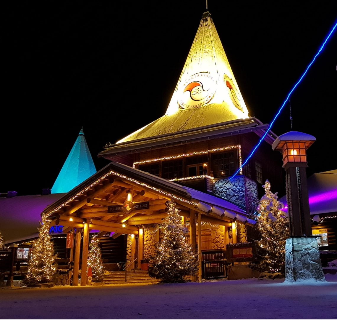 Best family holiday destinations - Santa's Office in the Santa Claus Village