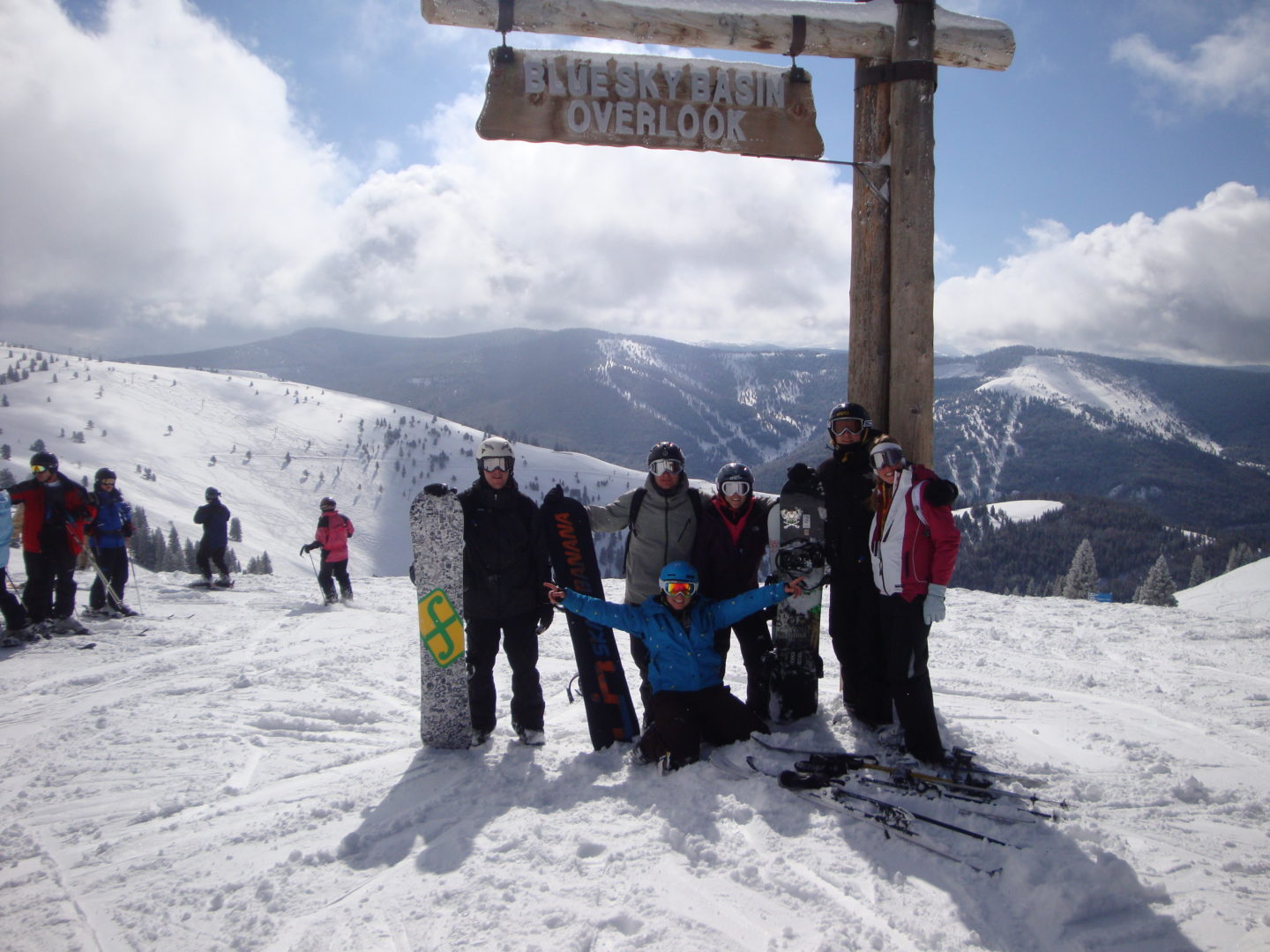 Why You Should Take Your Kids Skiing - Mr Wanderlust and I with our friends in Vail, Colorado