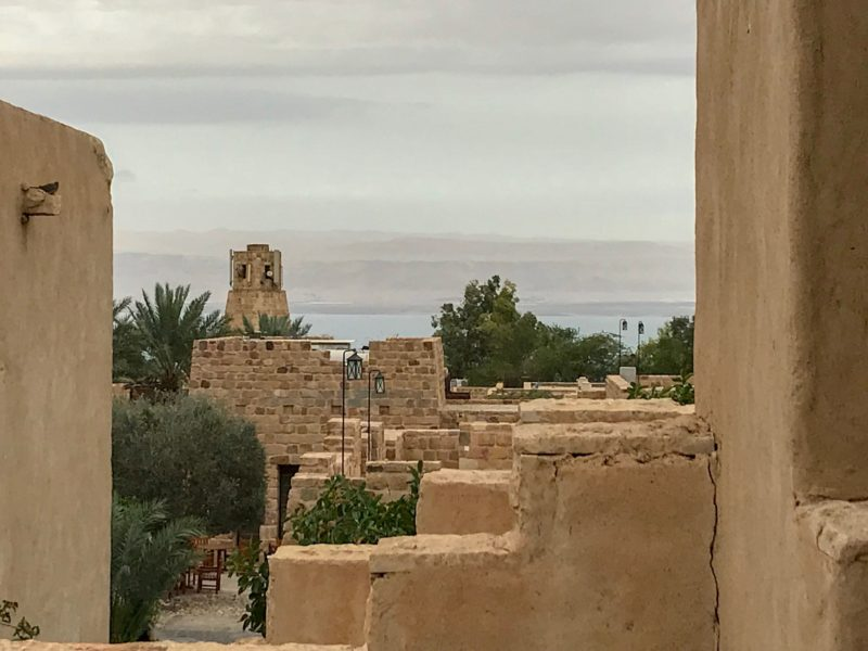 7 Things We Loved About Jordan - Views Across the Dead Sea from the hotel