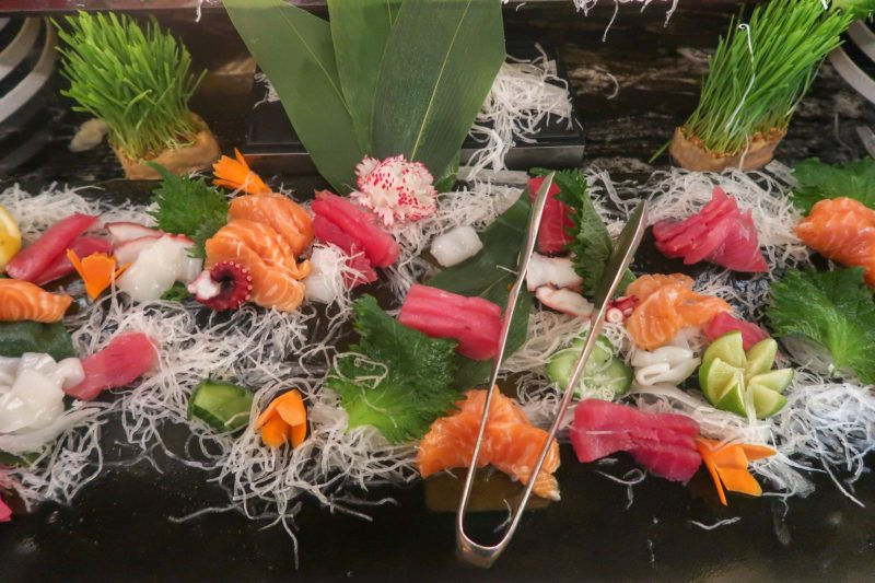 Four Seasons Doha - selection of sushi