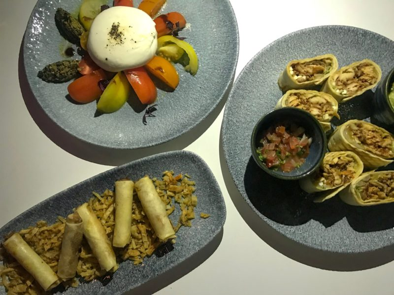 Four Seasons Doha - A selection of dishes from The Pier