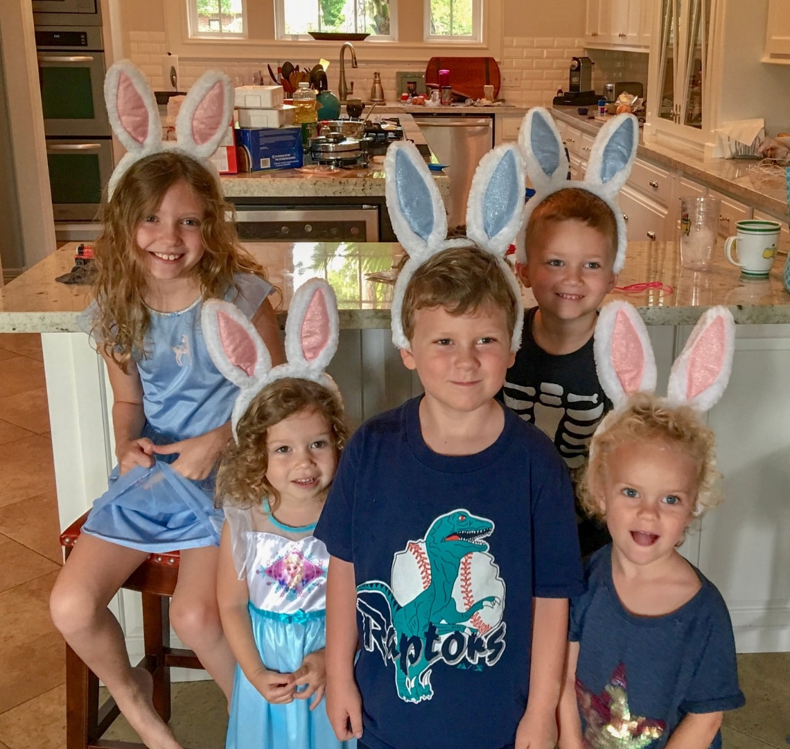 The Things and our Friends' Things with Easter bunny ears