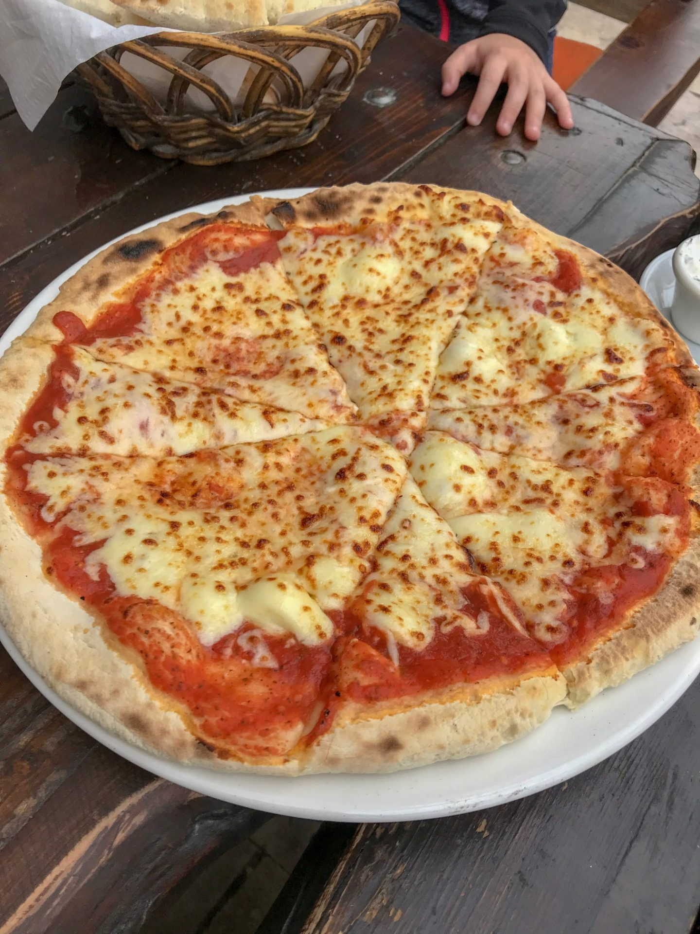 How to have an epic family holiday - pizza