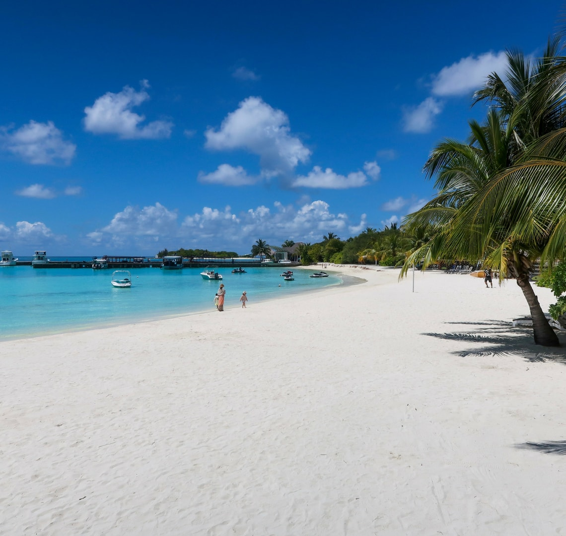 plan your holidays like a boss - Maldivian beach
