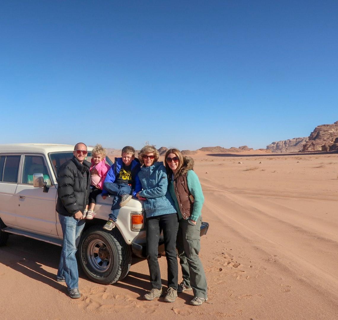 Last minute - Wanderlust family in Wadi Rum, Jordan