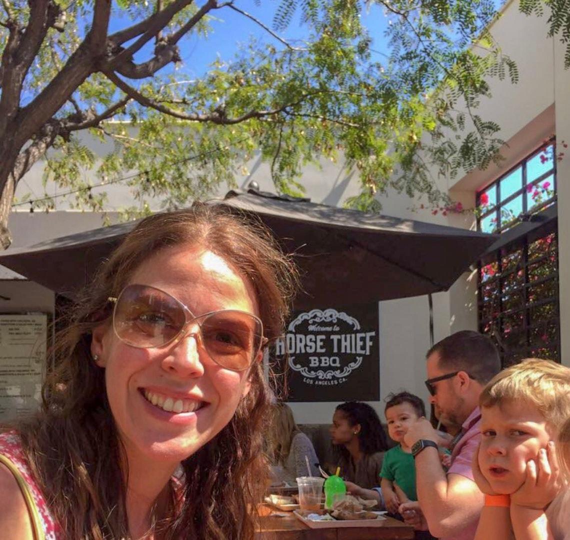 Los Angeles - at Horse Thief BBQ