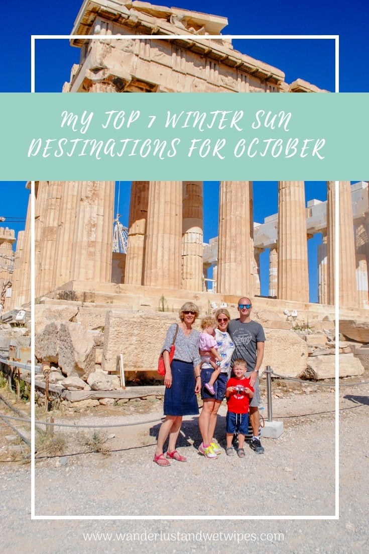 Pinnable Image - me and the Wanderlust family at the acropolis