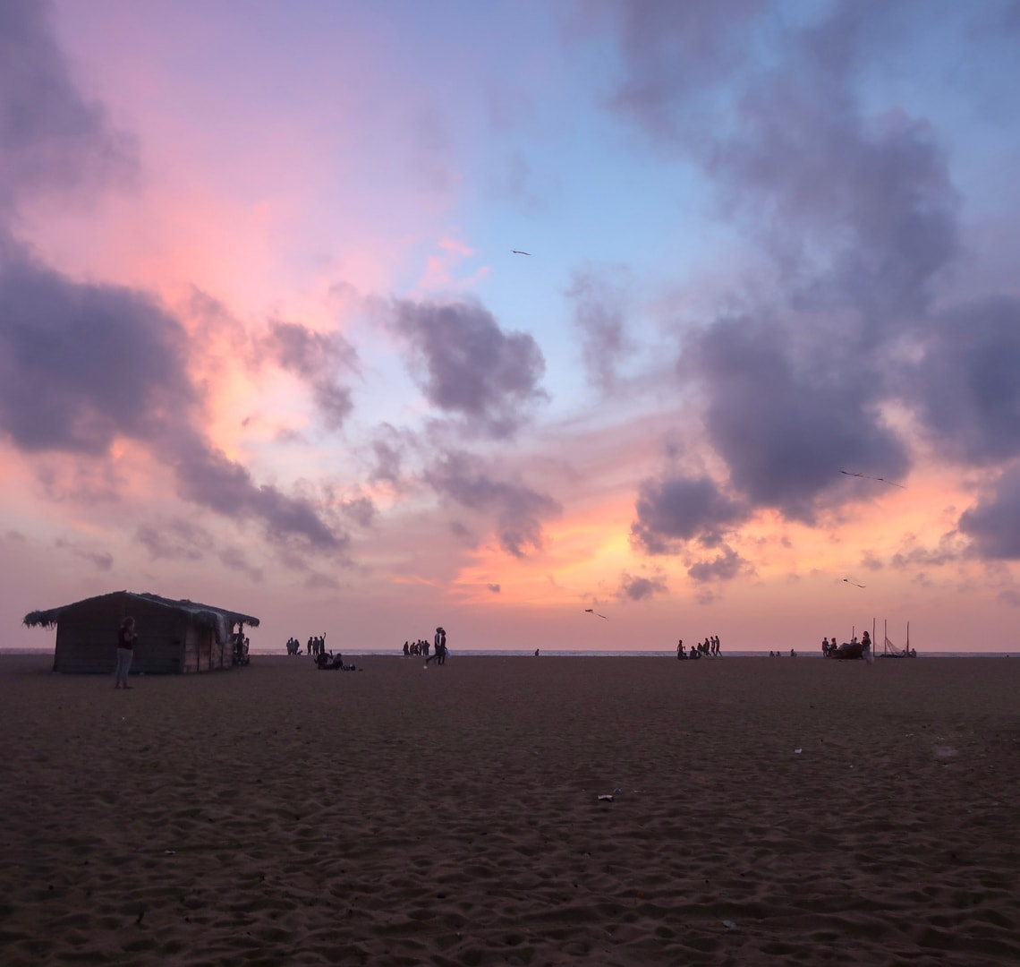 Perfect holiday - Negombo Sunset, Sri Lanka