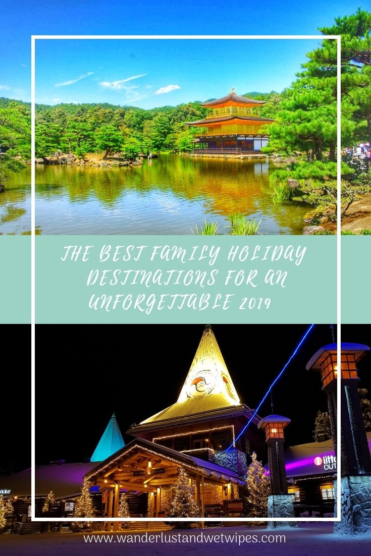 Best family holiday destinations - Pinnable Image 1