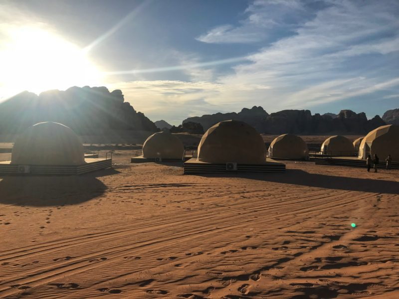 7 Things We Loved About Jordan - Sunset over Sun City Camp in Wadi Rum
