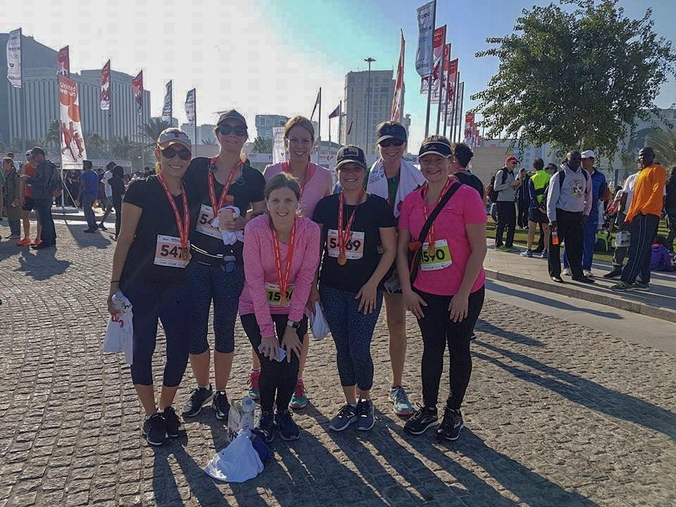 Why I wont say goodbye - Doha running buddies