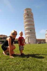 Tuscany with a sick kid was hard