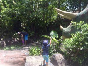 Dino golf fun