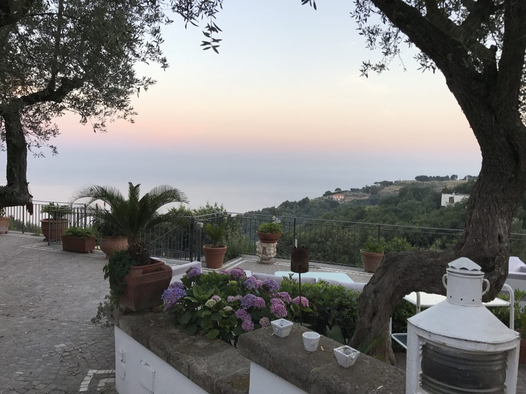 Villa Holiday - View From Our Amalfi Coast Villa
