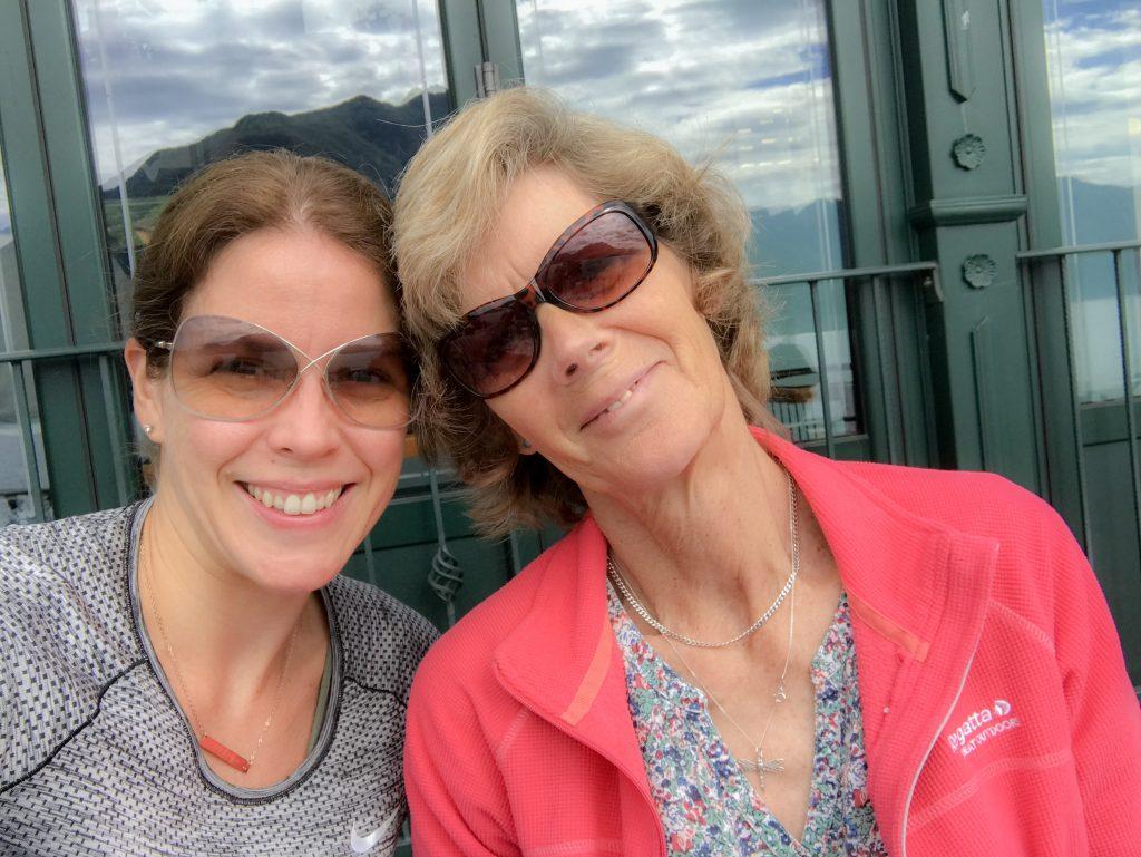 I won't say goodbye - my and granny wanderlust in Lake Como