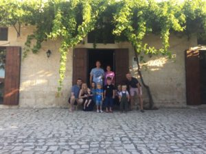 We had 6 adults and 6 Things in Sicily!