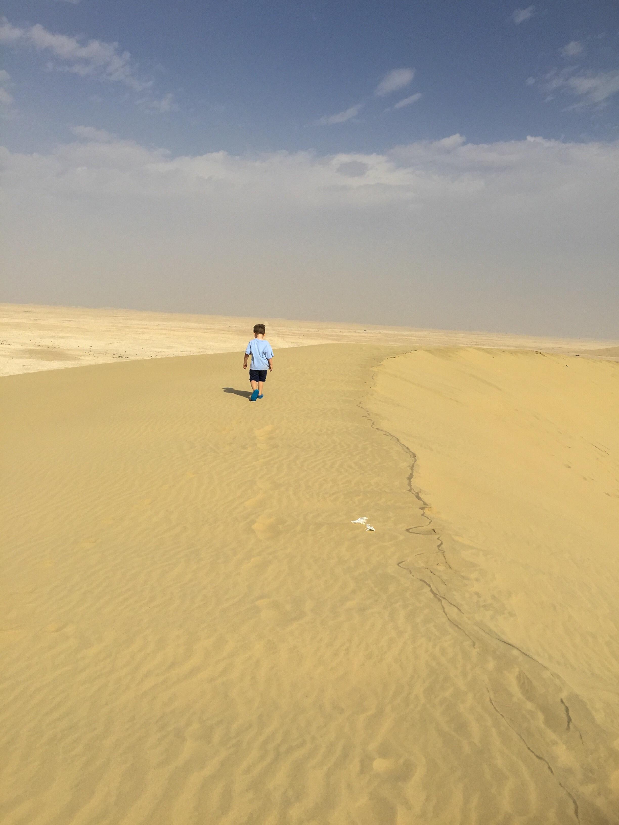 A post-Christmas desert visit