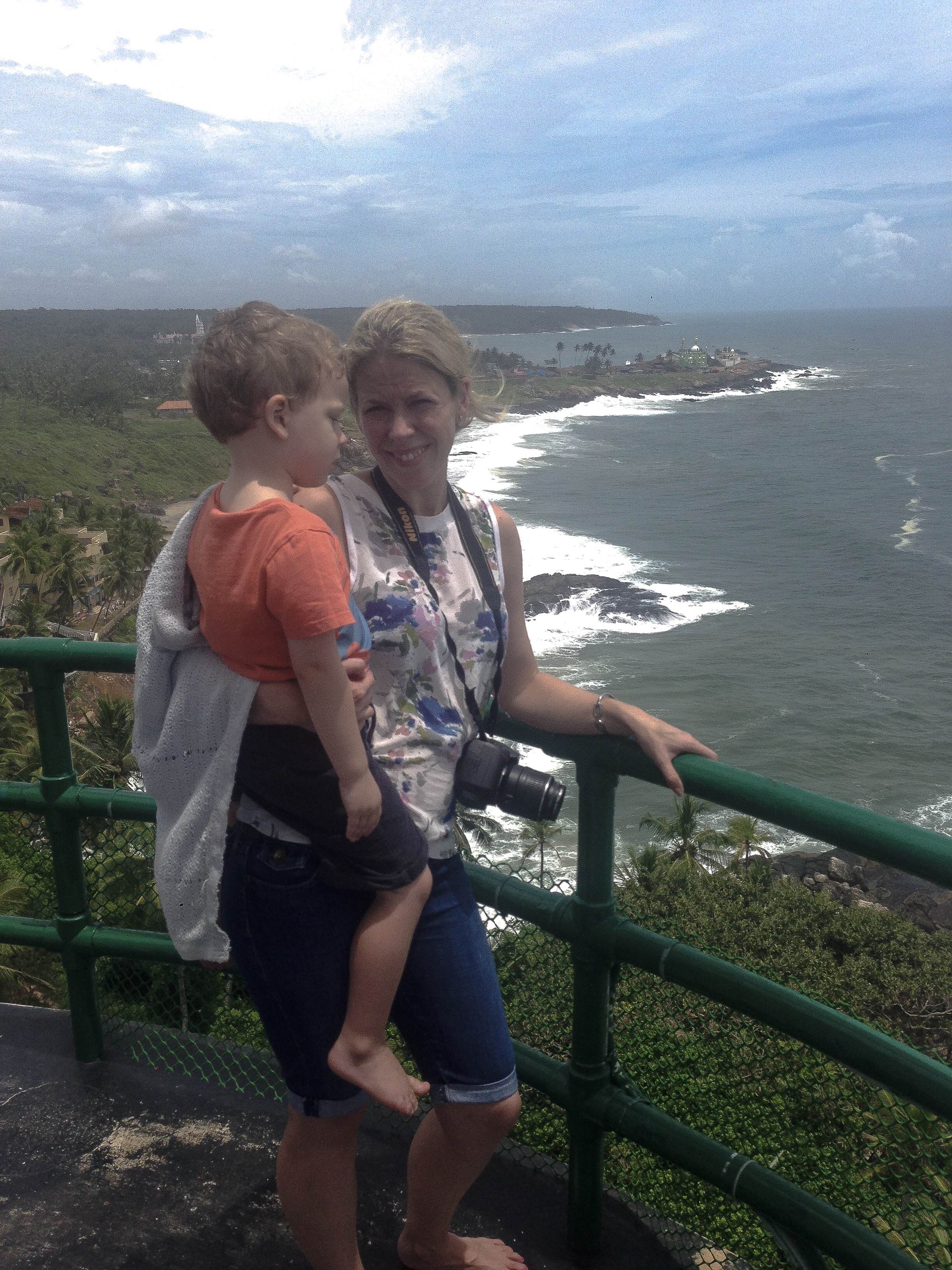 Kovalam Lighthouse view