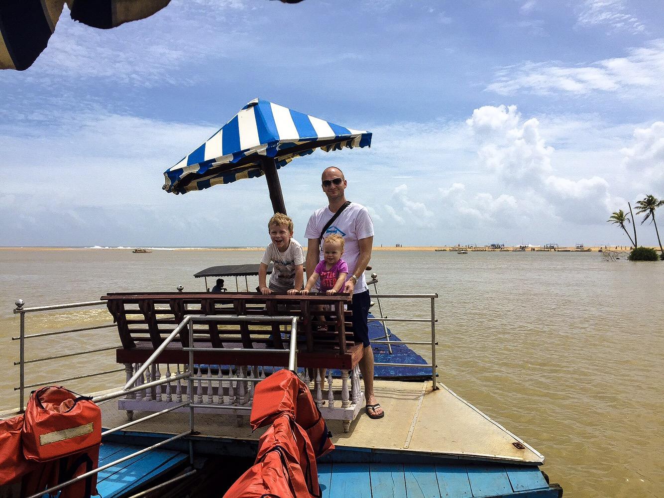 Karamana River boat