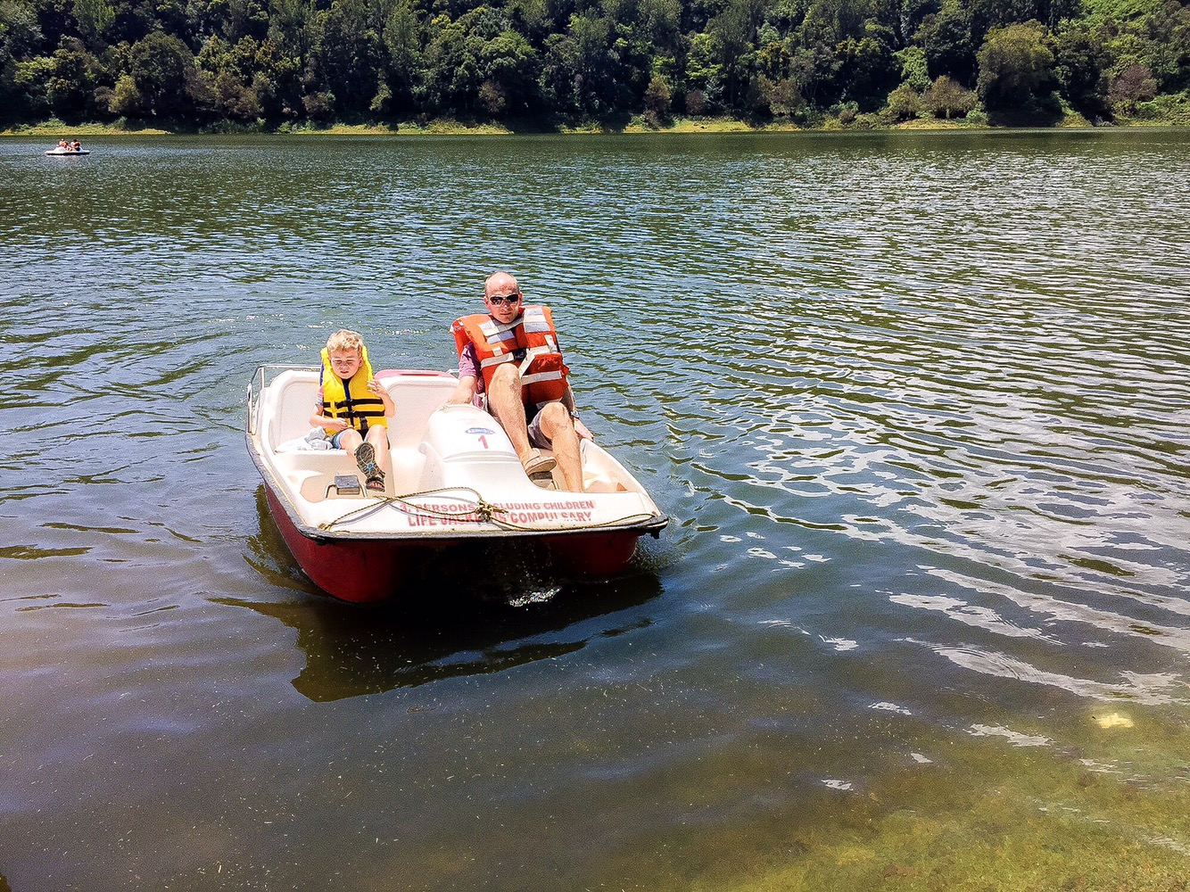 Paddle Boating at Mattupetty