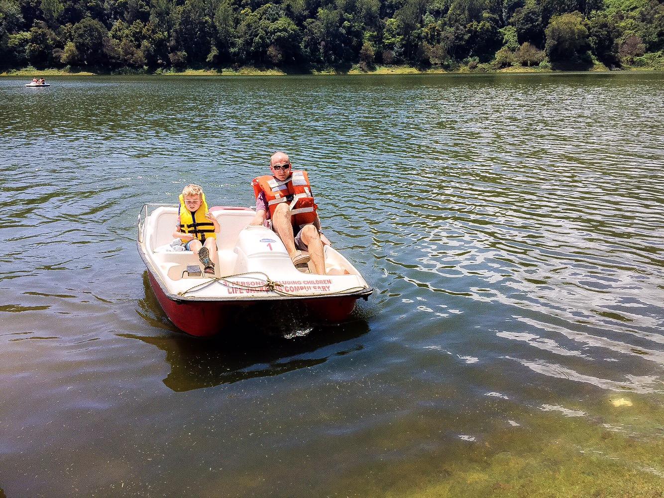 Paddle Boating at Mattupetty