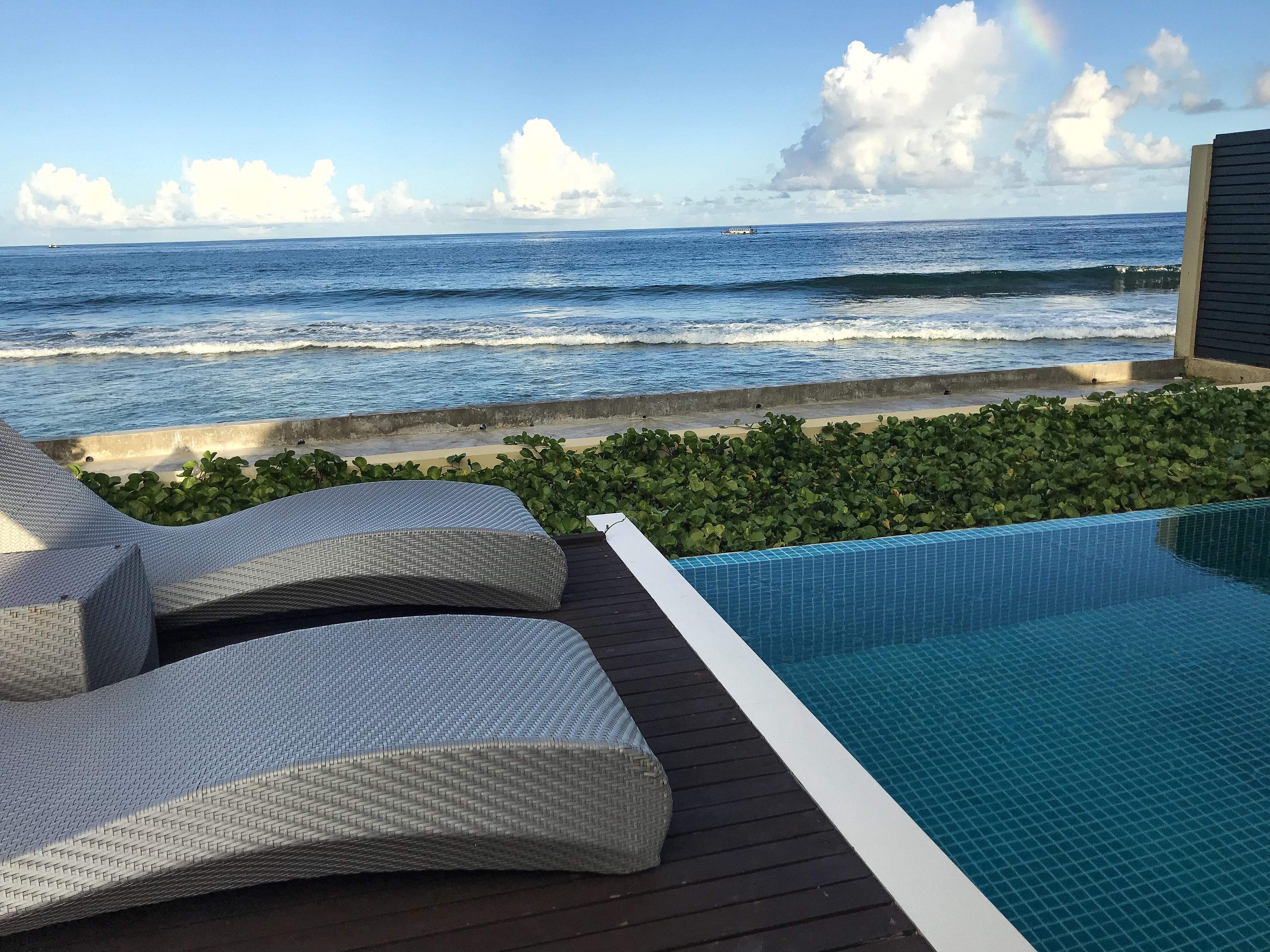 Ocean Pool Villa View