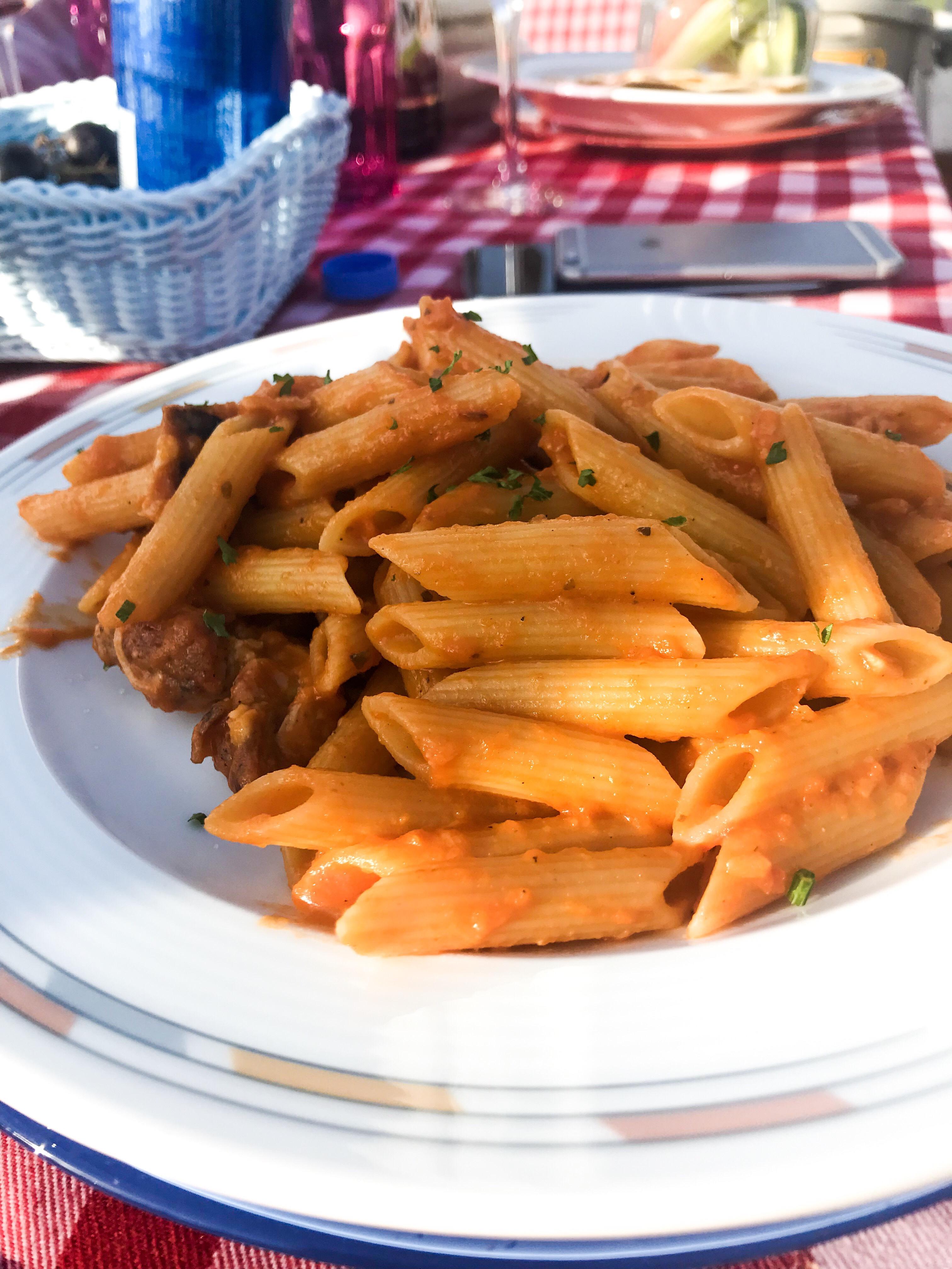 Super delicious pasta