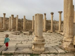 Jordan Adventures Part I - Amman. We loved exploring the Jerash ruins