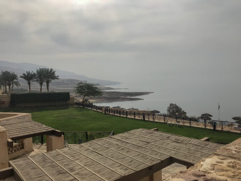 Jordan Adventures Part 2 - the Dead Sea. More views from the Movenpick hotel to across the waters of the Dead Sea