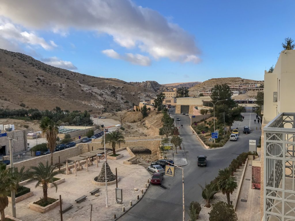 Jordan Itineraries - View from our hotel in Wadi Musa