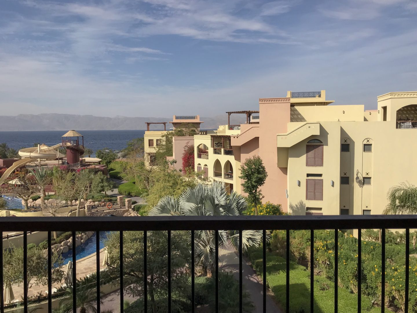 Jordan Itineraries - View from our room in Aqaba
