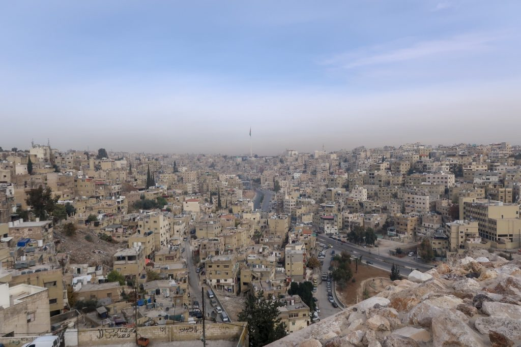 Jordan Itineraries - View from the Citadel