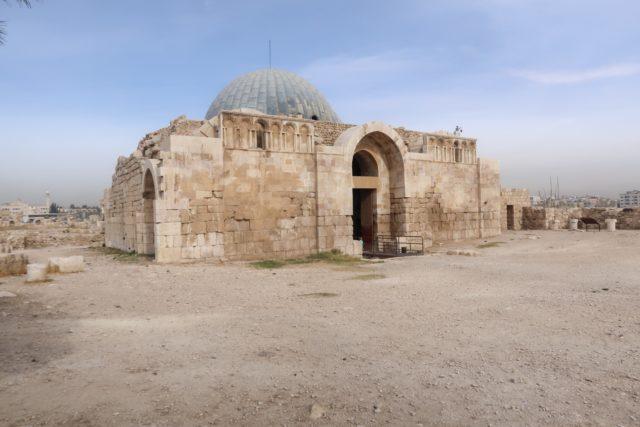 Ruins in Amman's Citadel