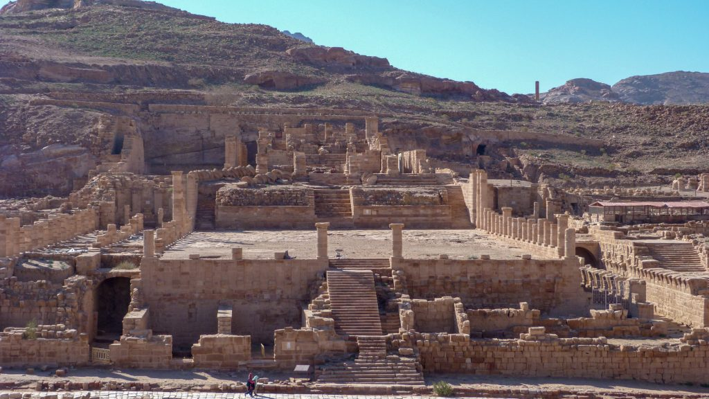 Jordan Itineraries - Great Temple at Petra
