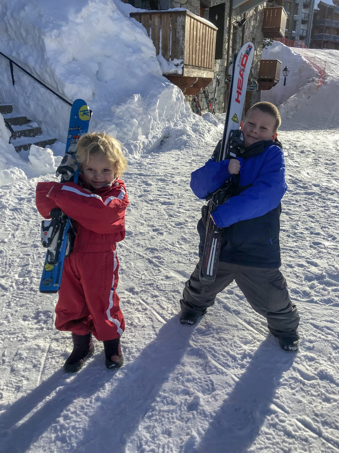 How to have an epic family holiday - the Things with their skis