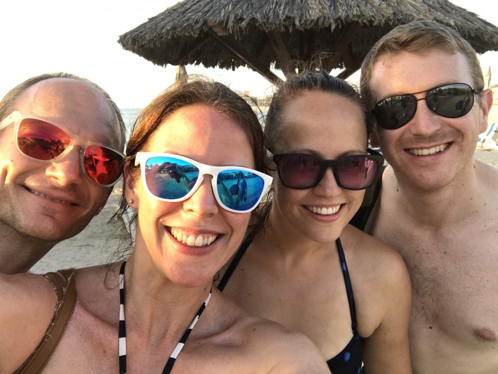 Expat Women - on holiday with Mr Wanderlust and some of our friends